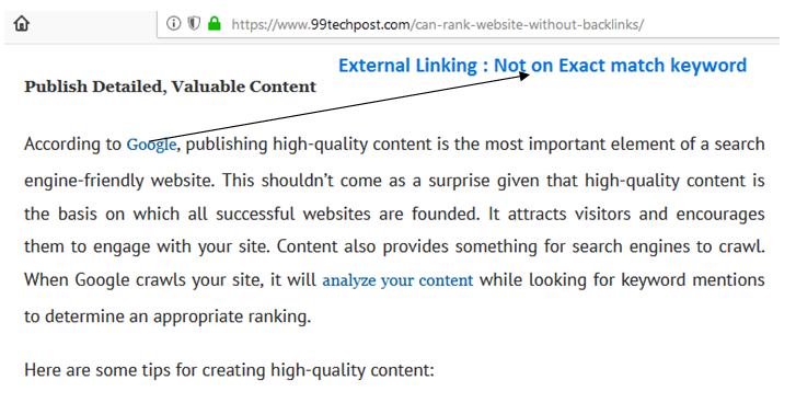 Outbound Linking -Best seo on page technique