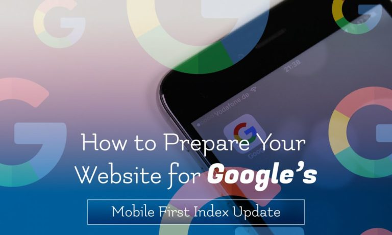 google mobile first index 2018