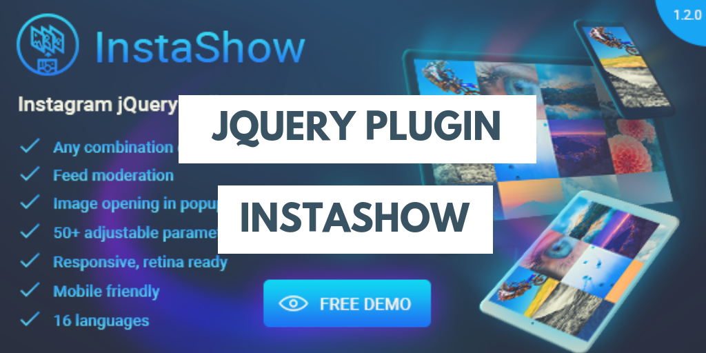 Top Five jQuery Plugins for Integrating the Instagram Feed -